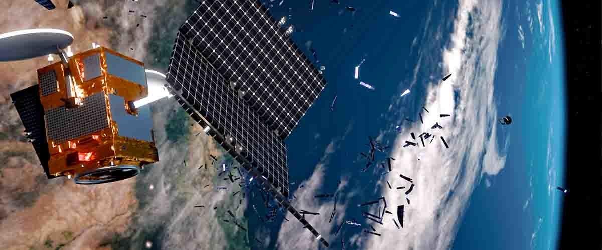 La misión ClearSpace-1 recogerá, entre otras cosas, trozos de satélites rotos tras colisiones.