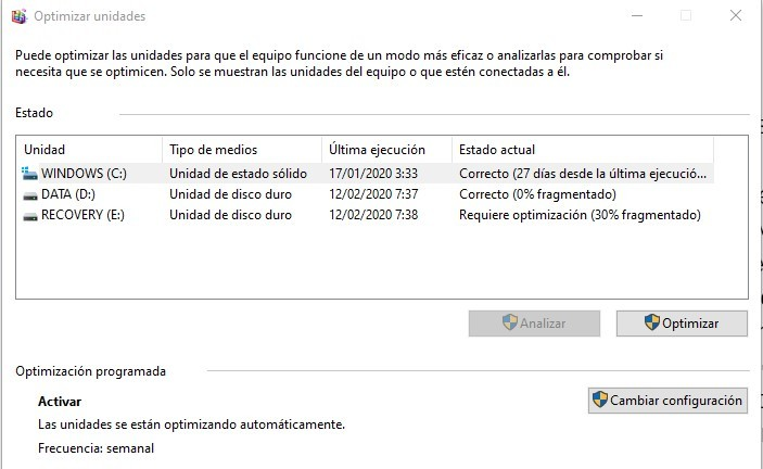 limpiar Windows