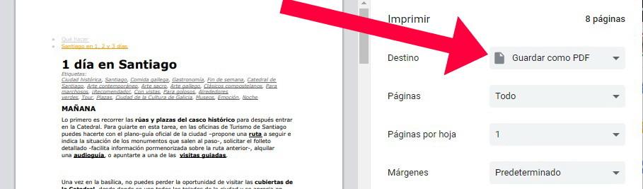 crear un PDF