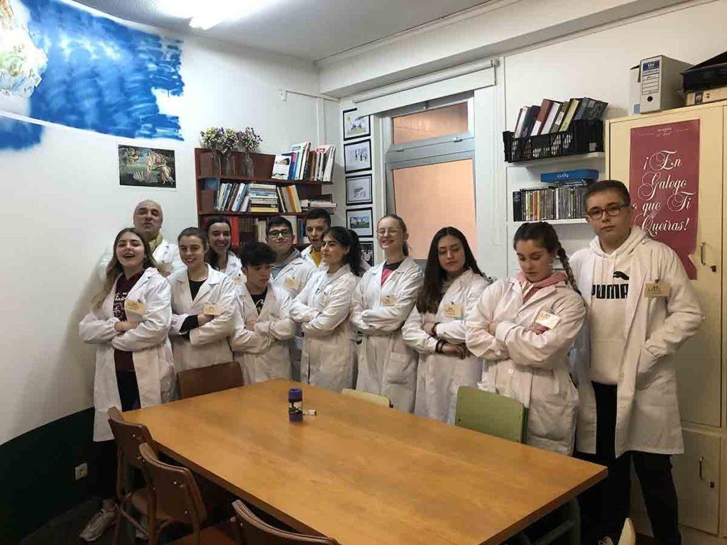 Equipo del IES Lamas de Abade, 2019-2020.