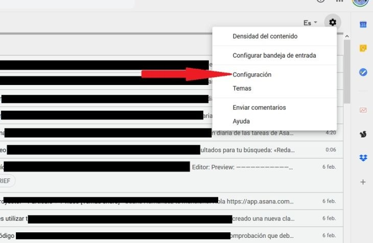 Consejos de Gmail