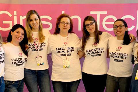 Hackathon alrededor de la ELA, organizado por Girls in Tech Spain.