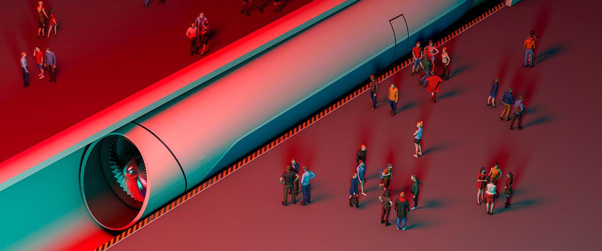 covid hyperloop planeta como hubiese sido