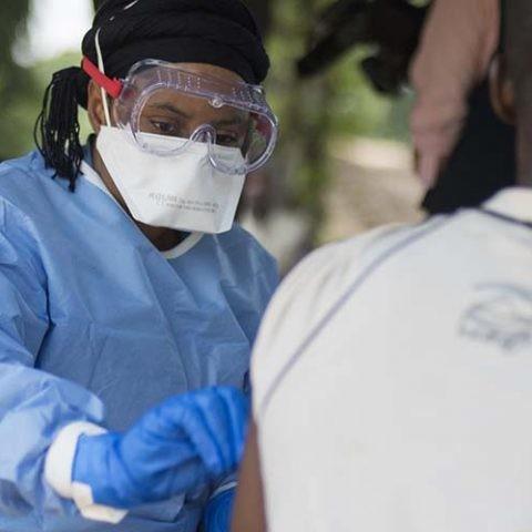 la vacuna contra el ébola en la República Democrática del Congo