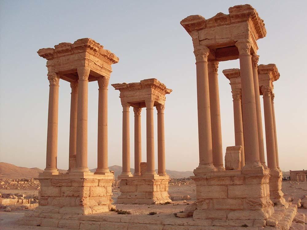 Palmira era una ciudad autosuficiente y sostenible