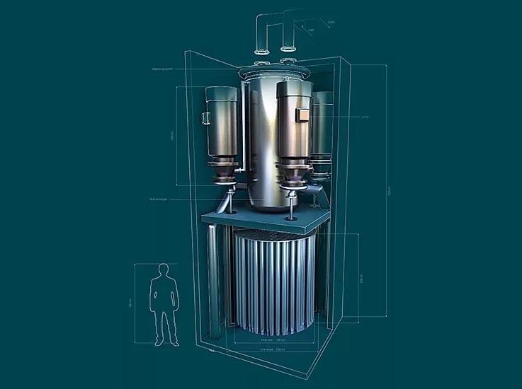 reactor de sal fundida de Seaborg Technologies