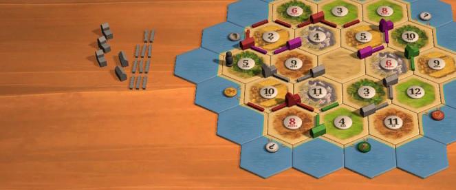 Catan es uno de los juegos de mesa online más conocidos.
