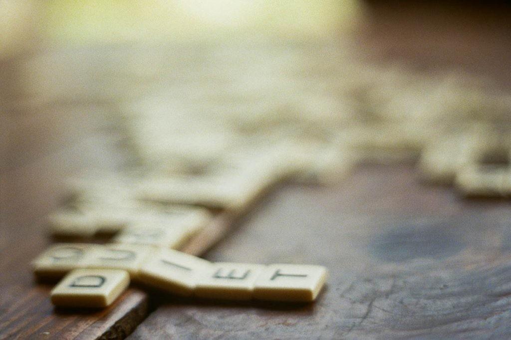 El Scrabble también tiene versión online.