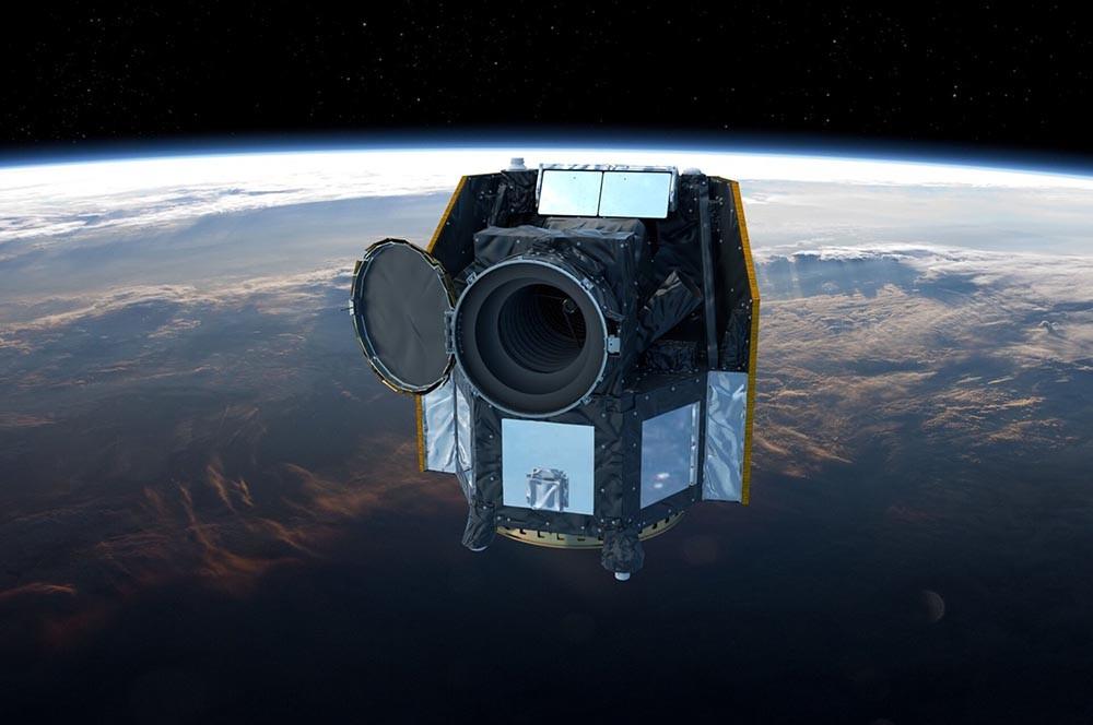 imagen del telescopio CHEOPS