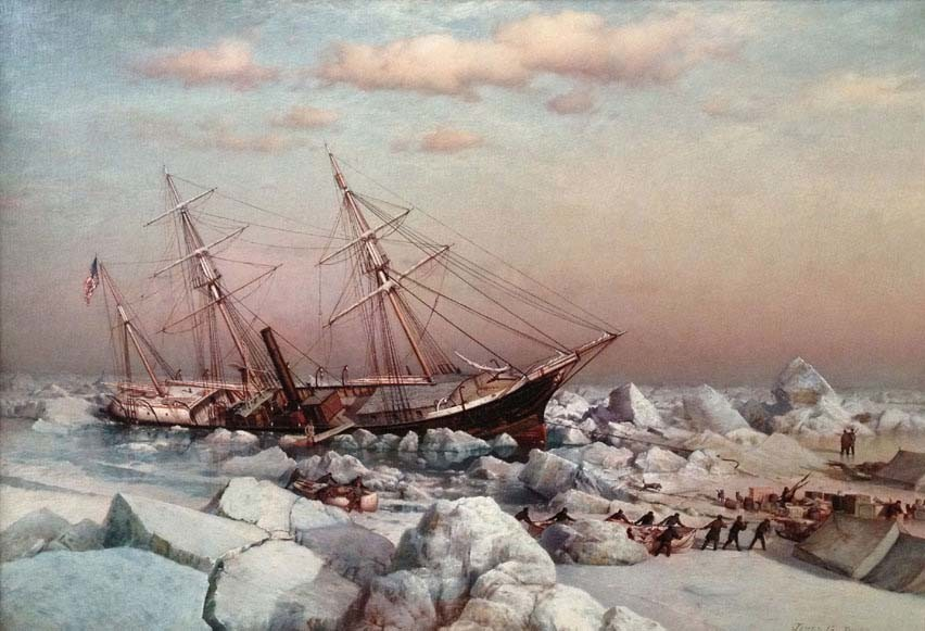 el naugrafio del USS Jeannette