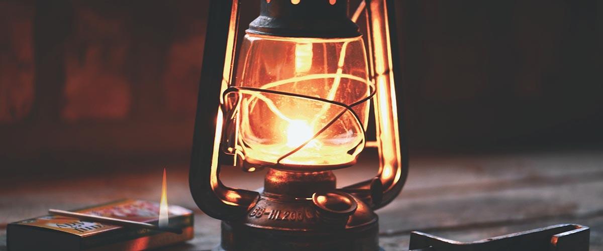 la lámpra de Florence Nightingale