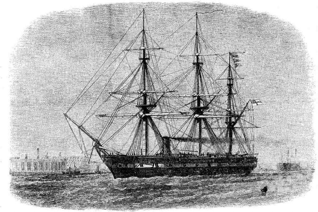 El HMS Challenger recogió muestras que hoy ofrecen información sobre el cambio climático.