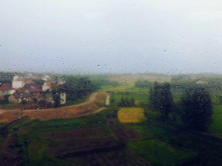 el olor a lluvia