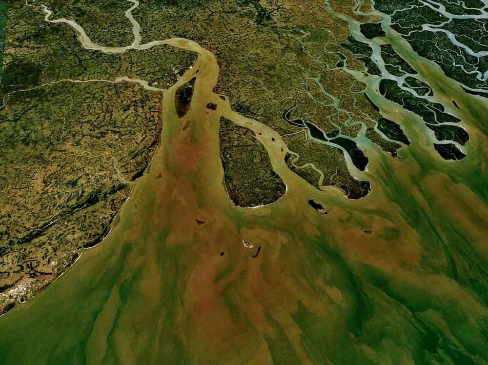 el delta del río Ganges