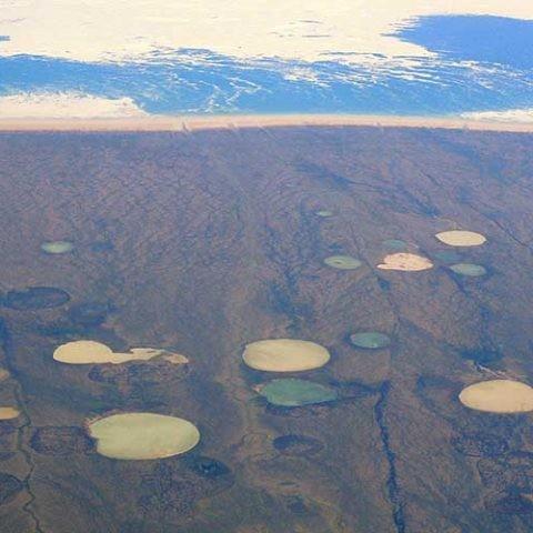 imagen del derretimiento del permafrost