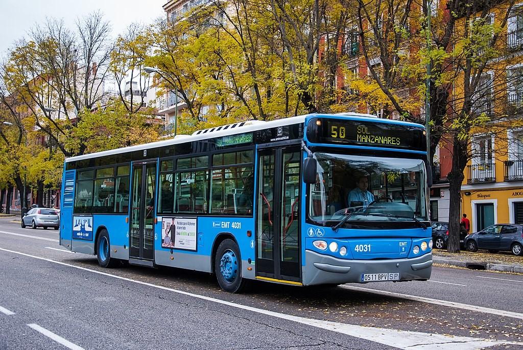 autobus emt prohibido el pago con dinero efectivo