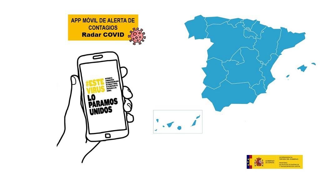 La app Radar-COVID permite rastrear contagios de forma más efectiva que la manual