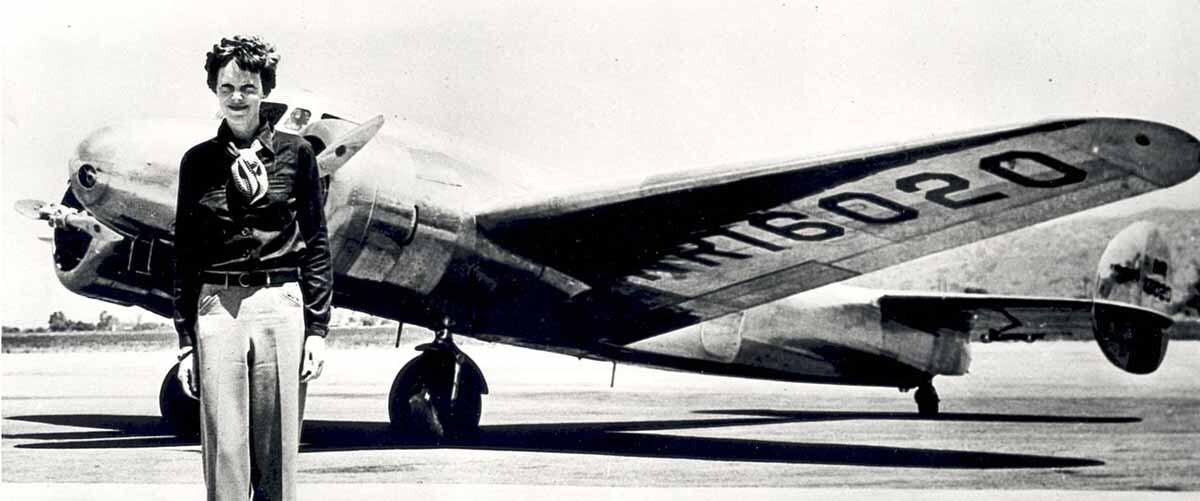 La expedición que salió en busca de los restos de Amelia Earhart.