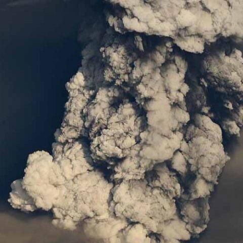erupción en islandia
