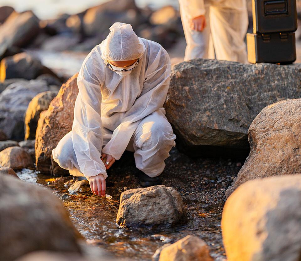 adn ambiental analisis del oceano cientificos