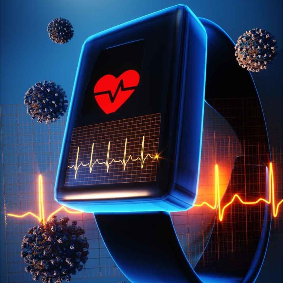 smart watch detectando la enfermedad