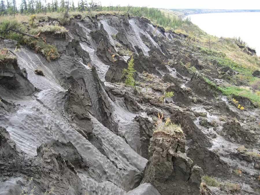 el permafrost se descongela en Siberia