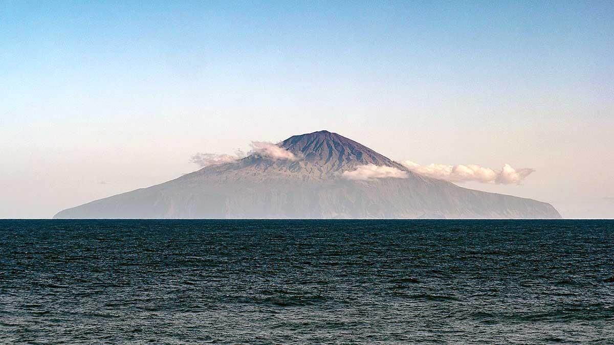 isla principal de Tristán da Cunha