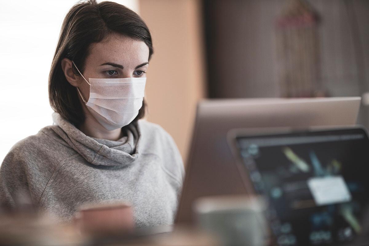 uso de mascarillas en la pandemia