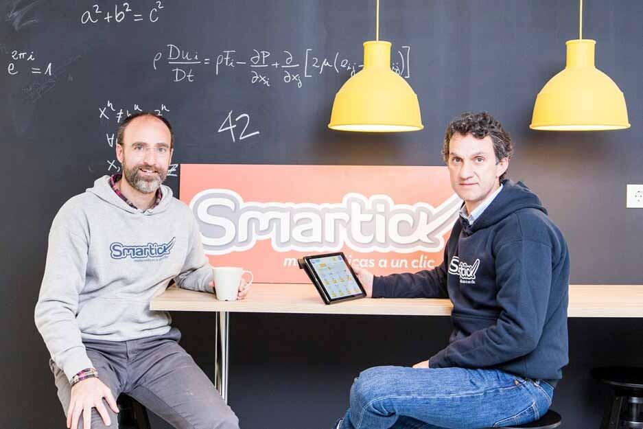 Daniel González de Vega y Javier Arroyo, creadores de Smartick.
