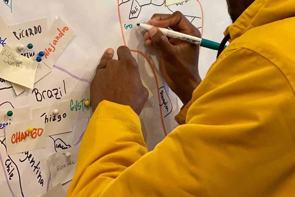 Los estudiantes de MigraCode son de nacionalidades y culturas muy diferentes.