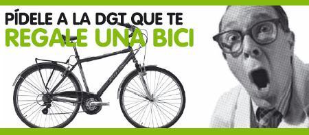 Pidele a la DGT que te regale una bici
