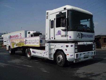 euskanbria aparcando su trailer
