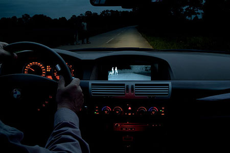 Sistema de vision nocturna de BMW