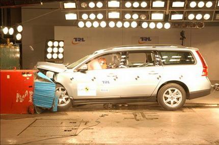 Volvo V70 EuroNCAP