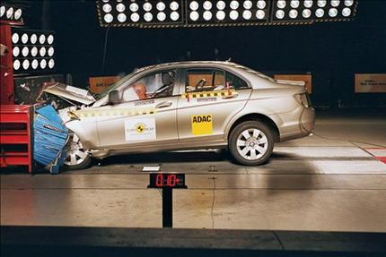 Mercedes Clase C EuroNCAP