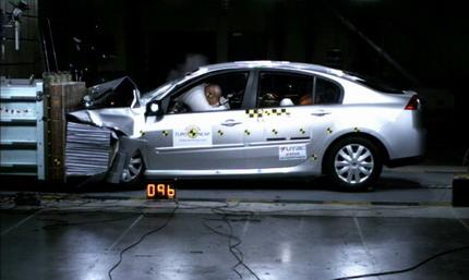 Renault Laguna EuroNCAP