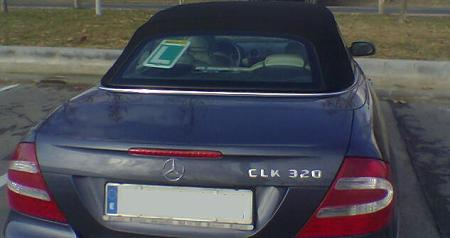 Mercedes CLK 320 para conductor novel