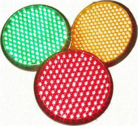 Ópticas LED para semáforo