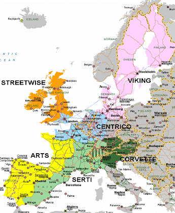 Proyectos euro-regionales