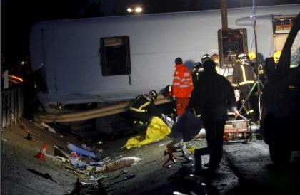 Accidente A-92 en Benalmadena