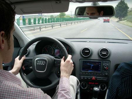 Prueba dinamica Michelin Energy Saver en Audi A3 1.9 TDIe