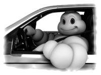 Bibendum conduciendo