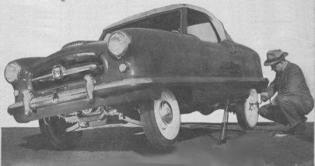 Cambiando neumáticos