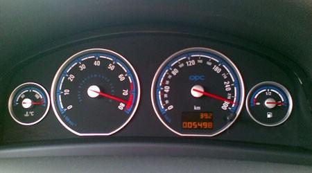 Velocimetro Opel Vectra OPC