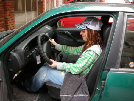 Mujer conductora (Flickr)