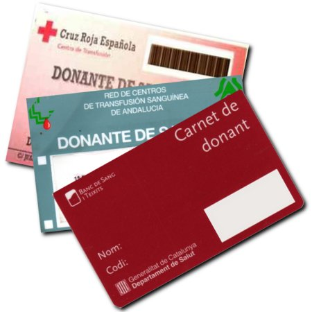 Carnets de donante
