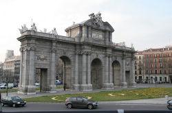 Puerta de Alcalá, en Madrid