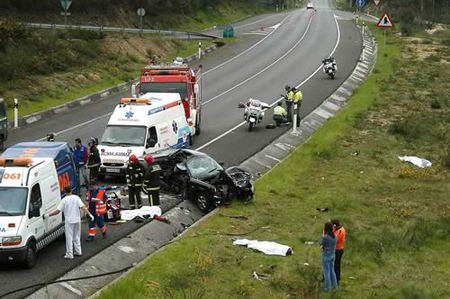 Accidente O Salnés