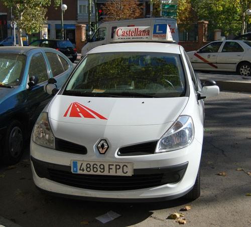 Renault Clio de autoescuela