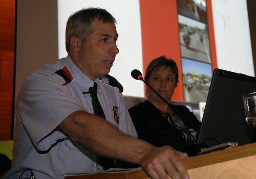 Miquel Bort, en una presentación de su libro